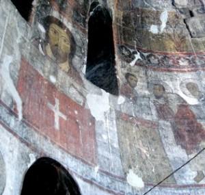 Fresques du moanstère de Kobayr (Toumanian)