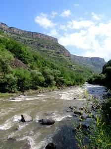 Les eaux du Débed à hauteur de Toumanian